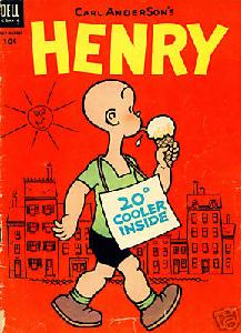 "Ten-Cent ""Henry"" Comic Book by Carl Anderson"