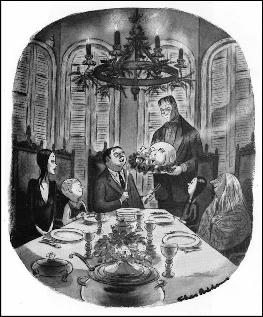 """The Addams Family"" by Charles Addams"