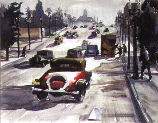 A California Scene by Elmer Plummer