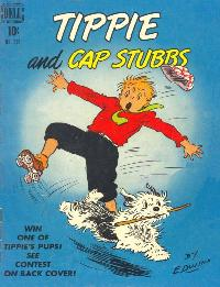 """Tippie and Cap Stubbs"" 10-cent comic book #210"